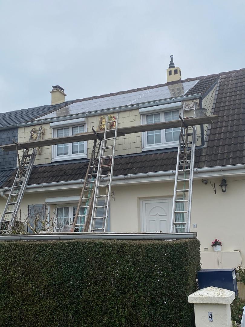 Rénovation gouttières
